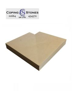 Once+Weathered+Corner+Coping+600+x+400 Coping Stone, Stone Uk, Precast Concrete, Different Colors, Corner, Boards, Cap, Suits, Garden