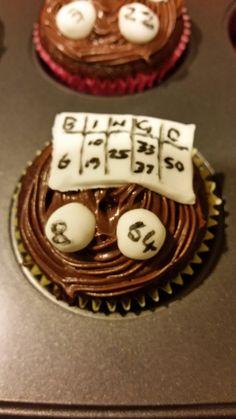 Bingo cupcake