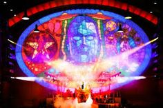 robbie williams live lighting design - Google Search