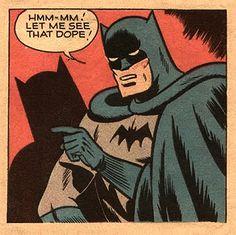 Batman's dope #geek