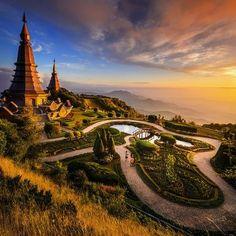 Chiangmai, Thailand by Preechar ! #travel #yourtravellist #Thailand
