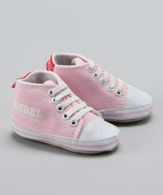 Take a look at this Pink 'Rebel' Sneaker by Blow-Out on #zulily #fall today!