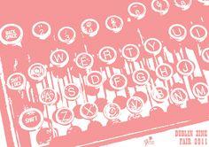 Dublin Zine Fair Programme Zine, Dublin, Graphic Design, Blog, Blogging, Visual Communication