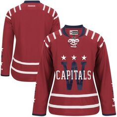 Womens Washington Capitals Reebok Red 2015 Winter Classic Premier Jersey. Washington  Capitals Jersey e5e2e63b7