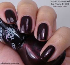 Nicole by OPI:  Backstage Pass   (Carrie Underwood collection)