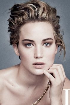 Jennifer Lawrence   15 Of The Boldest Eyebrow Transformations Of 2014