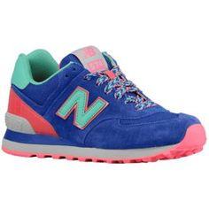 New Balance 574 - Women's - Running - Shoes - Blue
