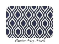 Decorative Throw Pillow Cover Home Decor by FestiveHomeDecor Premier Navy Nicole Premier Prints, $18.00