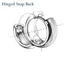 Hinged snap backFree Diy Jewelry Projects | Learn how to make jewelry - beads.us