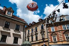 """In the city of Ljubljana – the name origins from the word """"ljubljena"""", the Slovenian equivalent to """"beloved"""" – attracted us even two times. Slovenia, Day Trip, Posts, Vacation, City, Summer, Blog, Travel, Messages"""