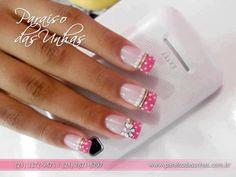 Nail Art Images and Tutorials: 5 creative nail art designs Creative Nail Designs, Creative Nails, Nail Art Designs, Fabulous Nails, Gorgeous Nails, Pretty Nails, Nail Art Images, French Tip Nails, Hot Nails