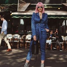 "Paris fashion week, with all the stars.Sissy is Rocking the ""Pleiades pantsuit""❤💥🌟 The Pleiades, What To Wear, Style Me, Shirt Dress, Elegant, Paris Fashion, Womens Fashion, Model, Shirts"
