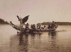 Due to the fact that the people of the Northwest Coast had access to food year-round, the Northwest Coastal People did not migrate or move. Description from firstpeoplesofcanada.com. I searched for this on bing.com/images