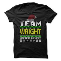 [Top tshirt name origin] UGLY CHRISTMAS TEAM WRIGHT Discount Best Hoodies, Funny Tee Shirts