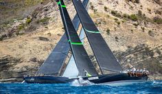 Les Voiles de St.Barth: Day One Battles Set Stage For Competitive Week Ahead