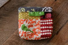 Miss Money Bags Snap Bag by plumpies on Etsy, $15.00