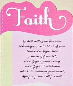Faith | God's purposes will prevail. Would be cute for arias room @Lisa Maynard