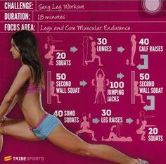 Great leg workout.