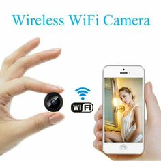 Mini Camera Wireless WiFi IP Security Camcorder DVR Night Vision Cam for sale online Best Home Security, Security Tips, Security Cameras For Home, House Security, Video Security, Security Service, Security Surveillance, Security Alarm, Surveillance System