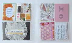 pocket page art journal | want to start an art journal, pocket style would be a wonderful way to begin