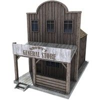 Western House 02 Model available on Turbo Squid, the world's leading provider of digital models for visualization, films, television, and games. Ho Model Trains, Ho Trains, Forte Apache, Old Western Towns, Old West Town, Western Saloon, Ho Scale Buildings, Diy Chicken Coop Plans, Pergola