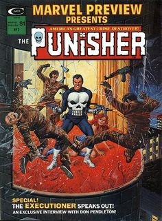 The Punisher Comic book cover art Punisher Comic Book, Punisher Comics, Buy Comics, Marvel Comics, Marvel Art, Marvel Magazine, Comic Books For Sale, Marvel Entertainment, Comic Book Covers