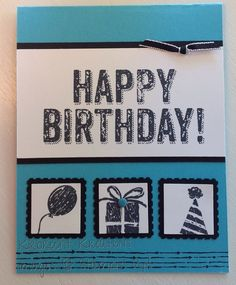 Stampin' Up! -Birthday Surprise