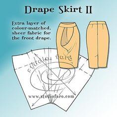 Pattern Fundamentals - Drape Skirt II