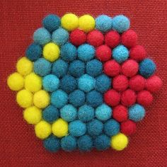 Project: Felted Ball Trivet