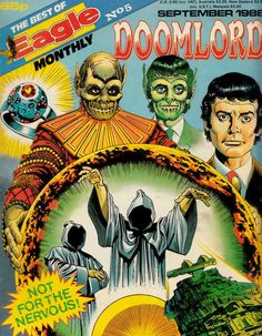 Best of Eagle Monthly - Doomlord (Issue) Marvel Dc, Comic Art, Eagle, Lord, Comics, Retro, Google Search, Cover, Illustration