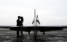 Wedding airfield  session.