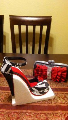 Sugar cake shoes