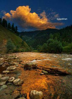 Nalter valley Hunza Gilgit Baltistan Pakistan