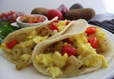 Egg & Tater Breakfast Tacos