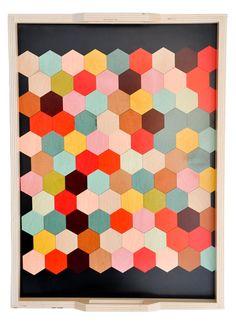 honeycomb tray.