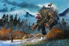 Norwegian Trolls By Ivar Rodningen Part 1