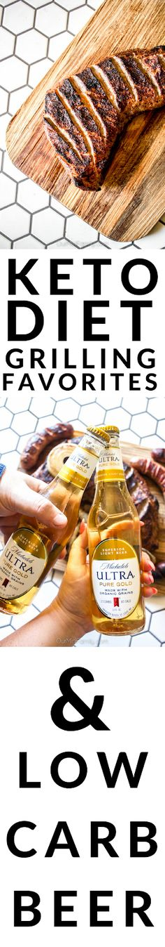 Sharing our keto diet grilling favorites, including a new favorite low-carb beer! ad