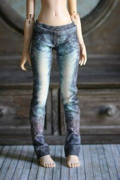 Ready Made JEANS for MSD 34-50cm BJDs