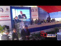 #SDNORTETV Presidente Medina entrega dos escuelas en La Gina del Higuero...