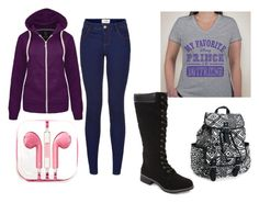 """Study Days"" by gigglycow on Polyvore featuring Carrini, Aéropostale and PhunkeeTree"