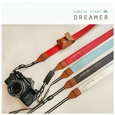 The Buon Venerdi Classic Camera Strap is one of many adorable and functional products in the MochiThings collection. Cute Camera, Hipster Camera, Kinds Of Camera, Classic Camera, Camera Straps, Camera Accessories, Photography Business, Camcorder, Camden