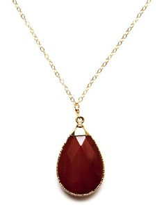 Carnelian Amsu Necklace - JewelMint