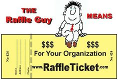 Ready to organize a fundraising raffle? Have you ordered your custom printed raffle tickets?