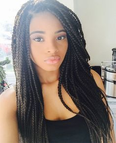 Long Box Braids are
