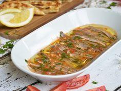 Γαύρος μαρινάτος Seafood, Chicken, Meat, Recipes, Sea Food, Recipies, Ripped Recipes, Recipe, Cooking Recipes