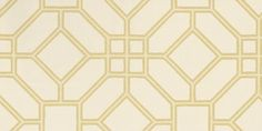 Veranda Trellis  Gold wallpaper by Zoffany
