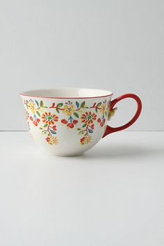 found this exact mug at savers for 50 cents back in august. just found out it's anthropologie and now i know where to get the rest of 'em. thanks, savers, you rule!