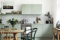 50 Modern Scandinavian Kitchens that Leave You Spellbound | Decoist | Bloglovin'