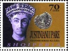 Sello: Justinian I. (Albania) (Roman Rulers of Illyria and Coins) Mi:AL 2942