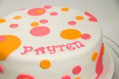 bake me a Kake: Polka Dot Baby Shower Cake